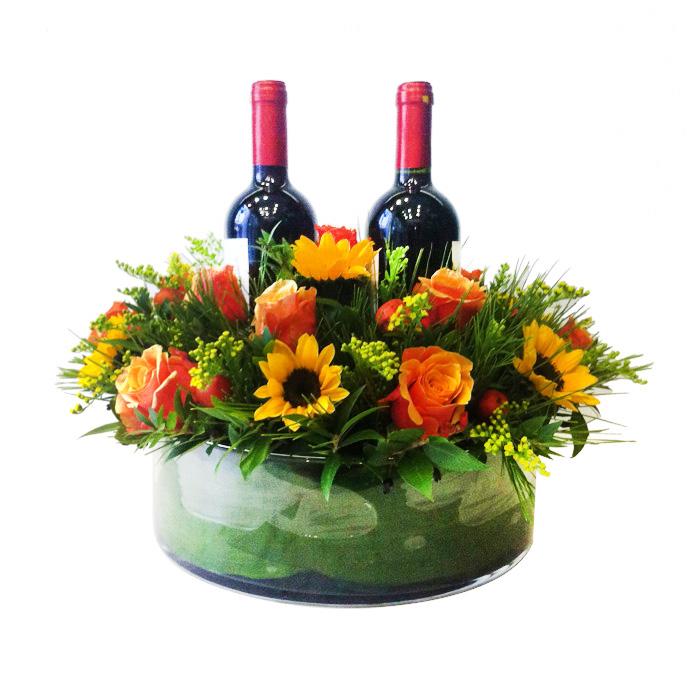 ποτά-λουλούδια