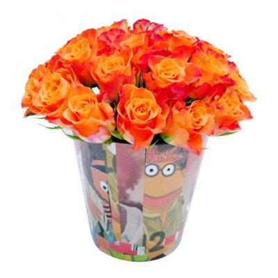Collage-ΧΕΙΡΟΠΟΙΗΤΟ-pot-S-με-πορτοκαλί-τριαντάφυλλα