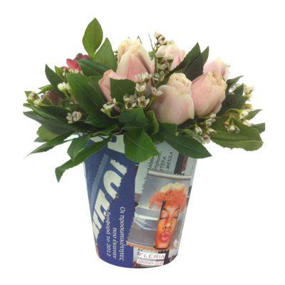 Collage-ΧΕΙΡΟΠΟΙΗΤΟ-pot-S-με-τριαντάφυλλα-και-wax